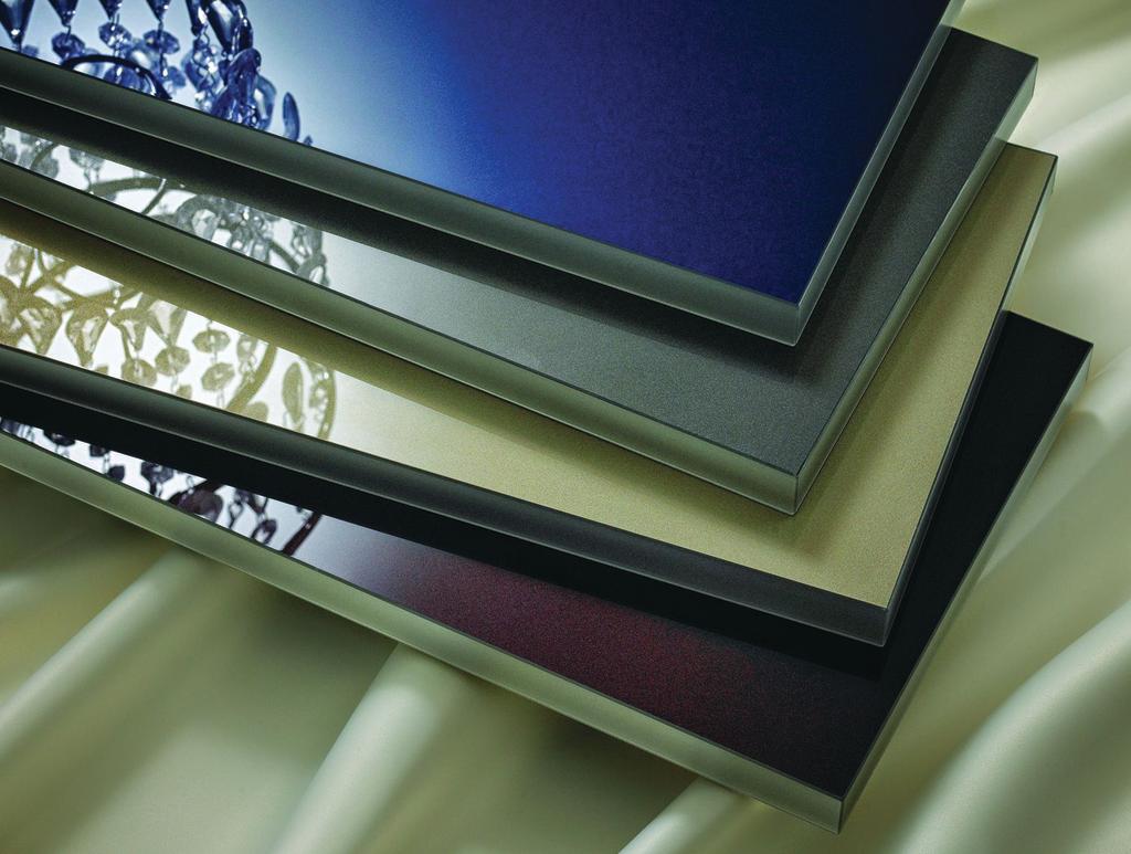 Metallic Cabinet Acrylics