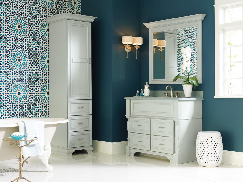 Five Suites of Bath Cabinetry