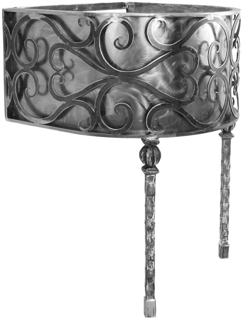 Layton Collection Iron Vanity Bases