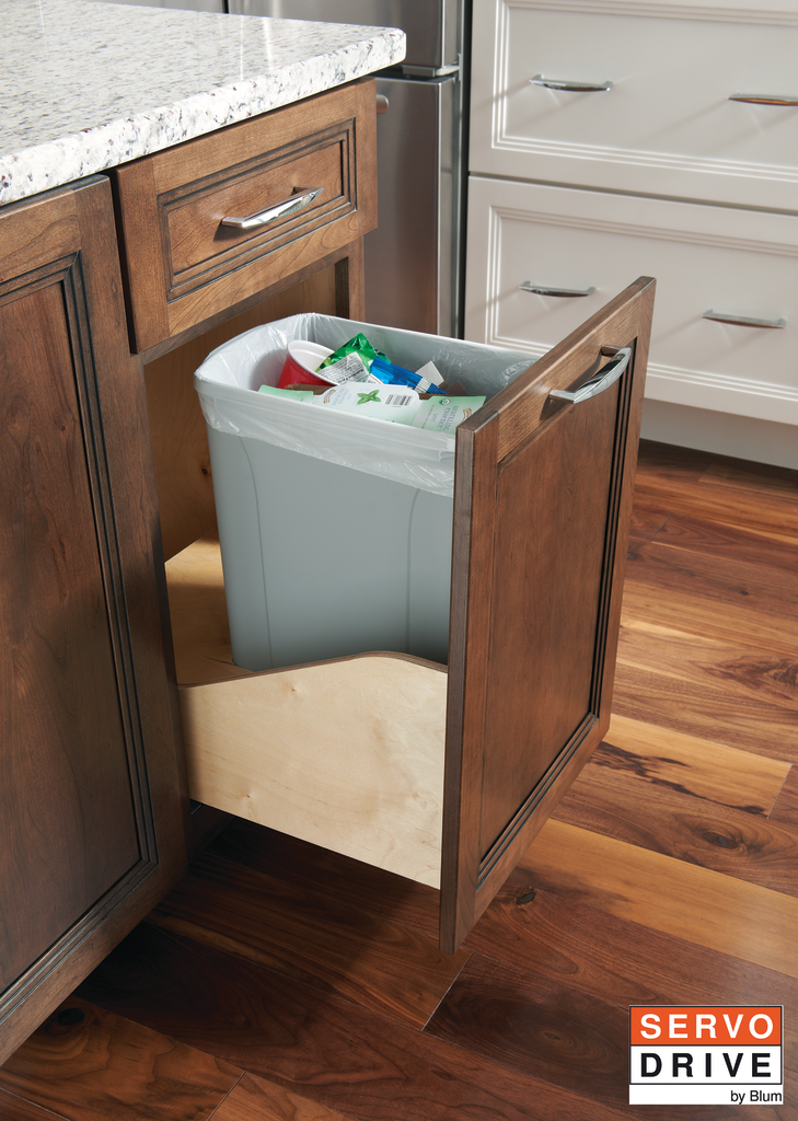 Waste Cabinets with Servo Drive