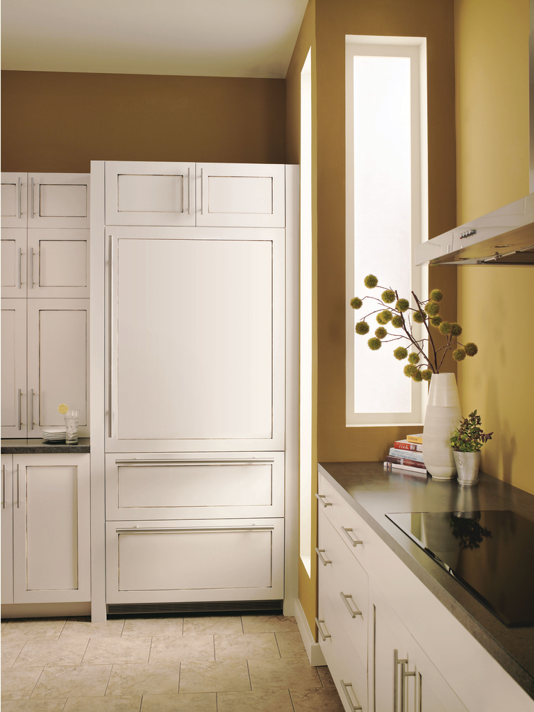 Fully Integrated Refrigerator/Freezer