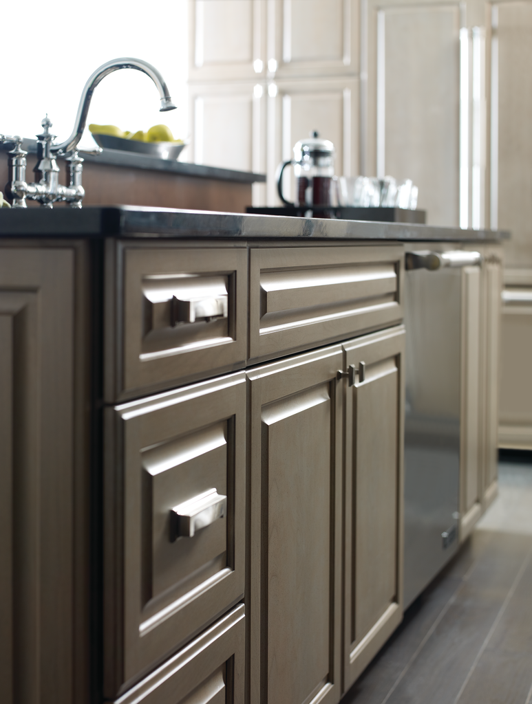 Gray Cabinet Stain