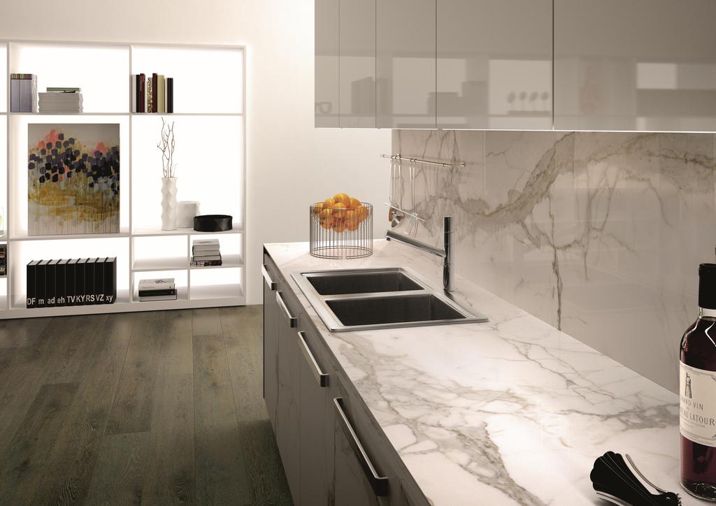 Porcelain Slab Countertops Offer New Design Options