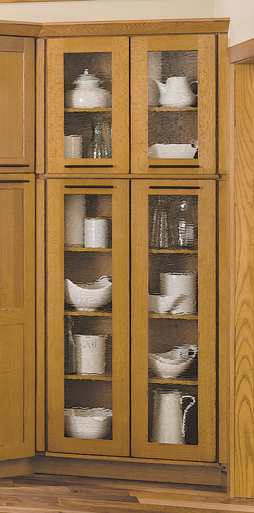 Wave Glass Cabinet Inserts