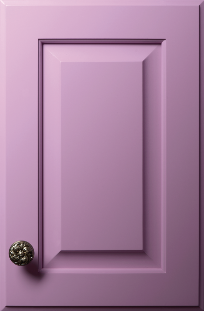 Radiant Orchid Cabinet Finish