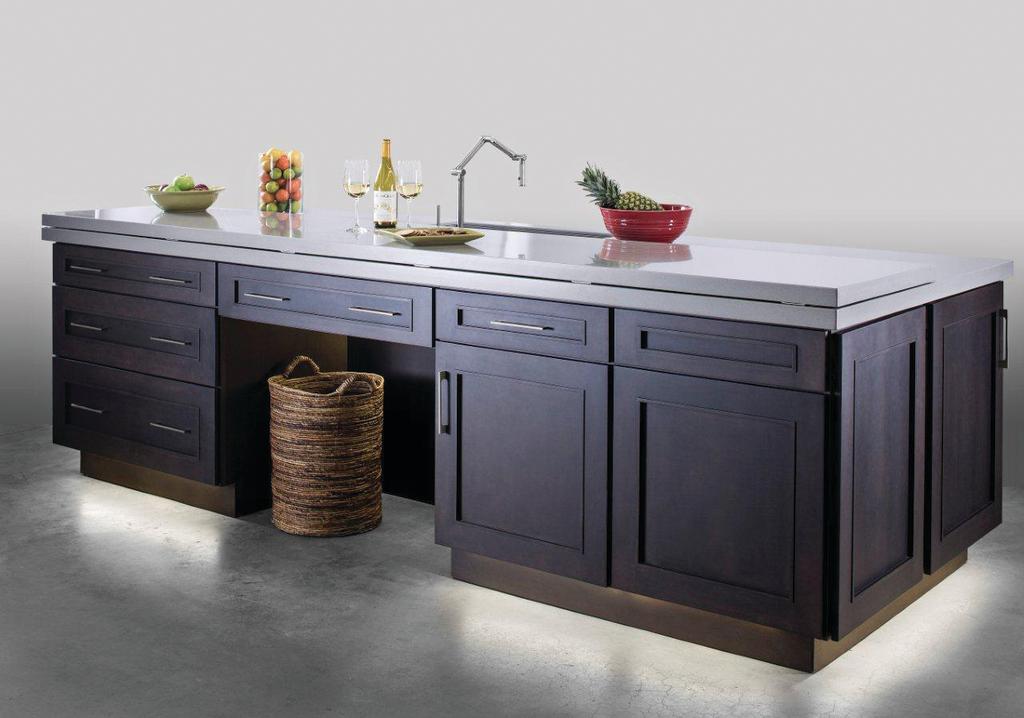 Universal Design Kitchen Cabinets