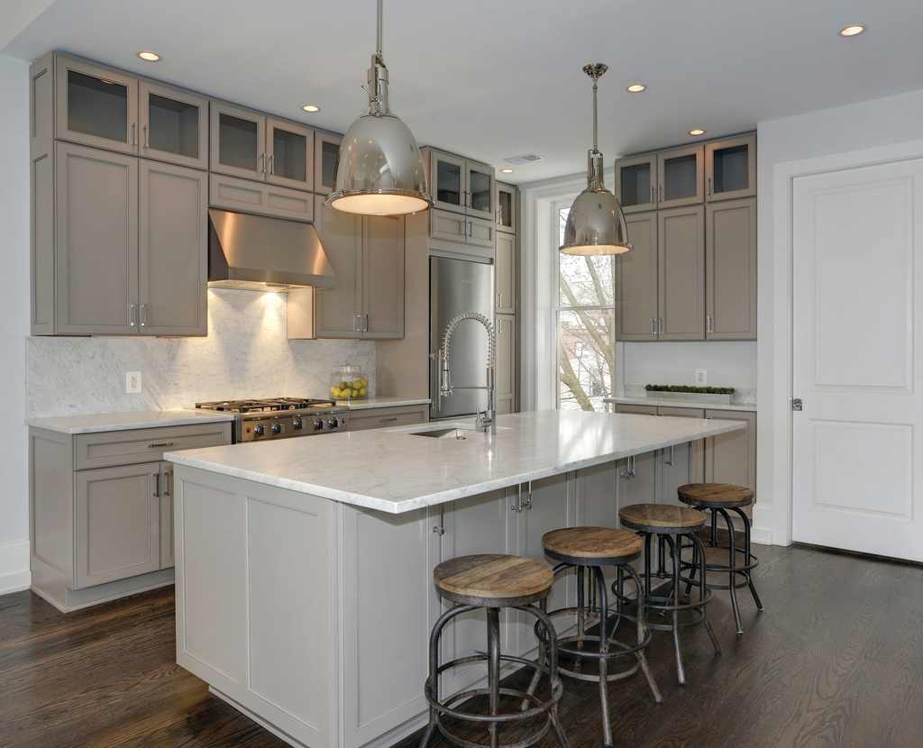 Gray Kitchen Cabinets For Residential Pros