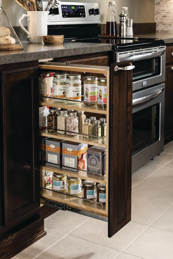 Wide Base Pullout Cabinet
