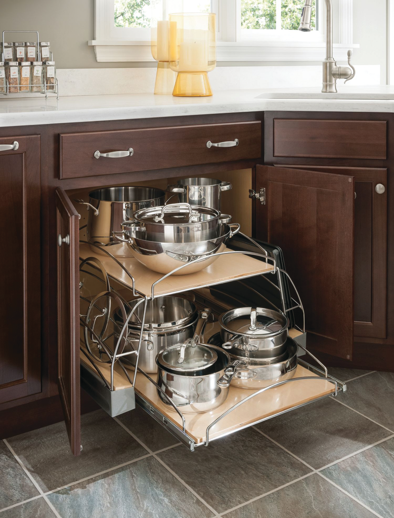Pots and Pans Pullout Cabinet
