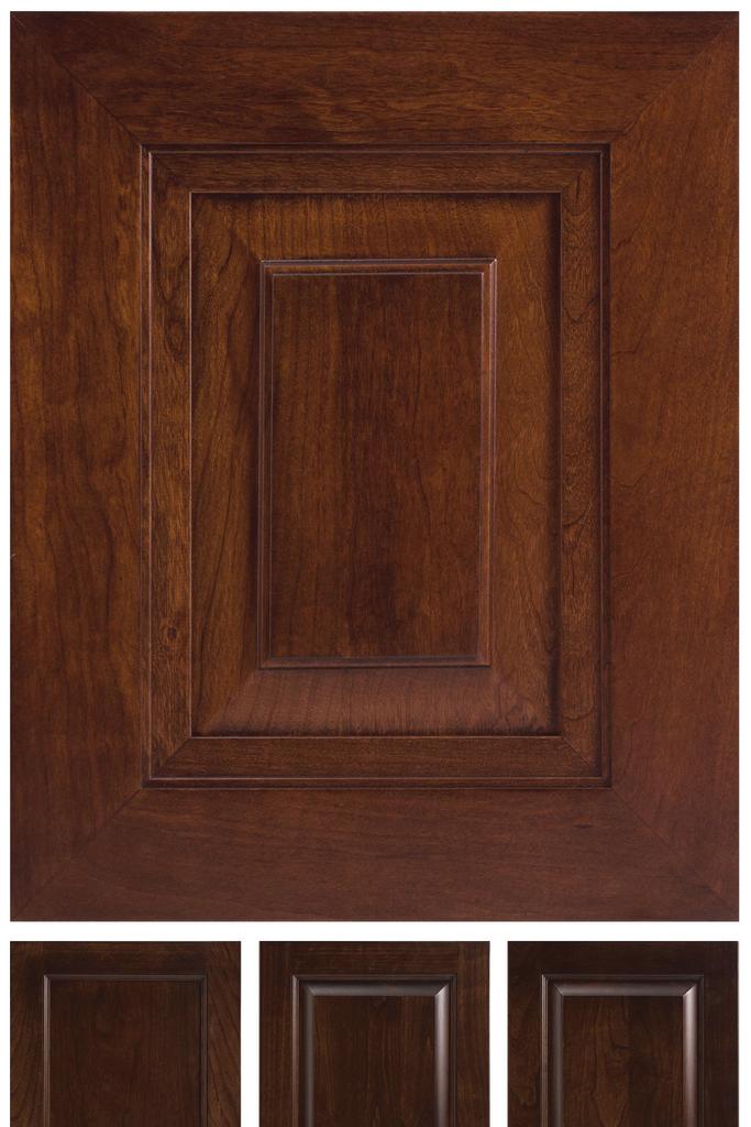 Hazelnut Door Finish