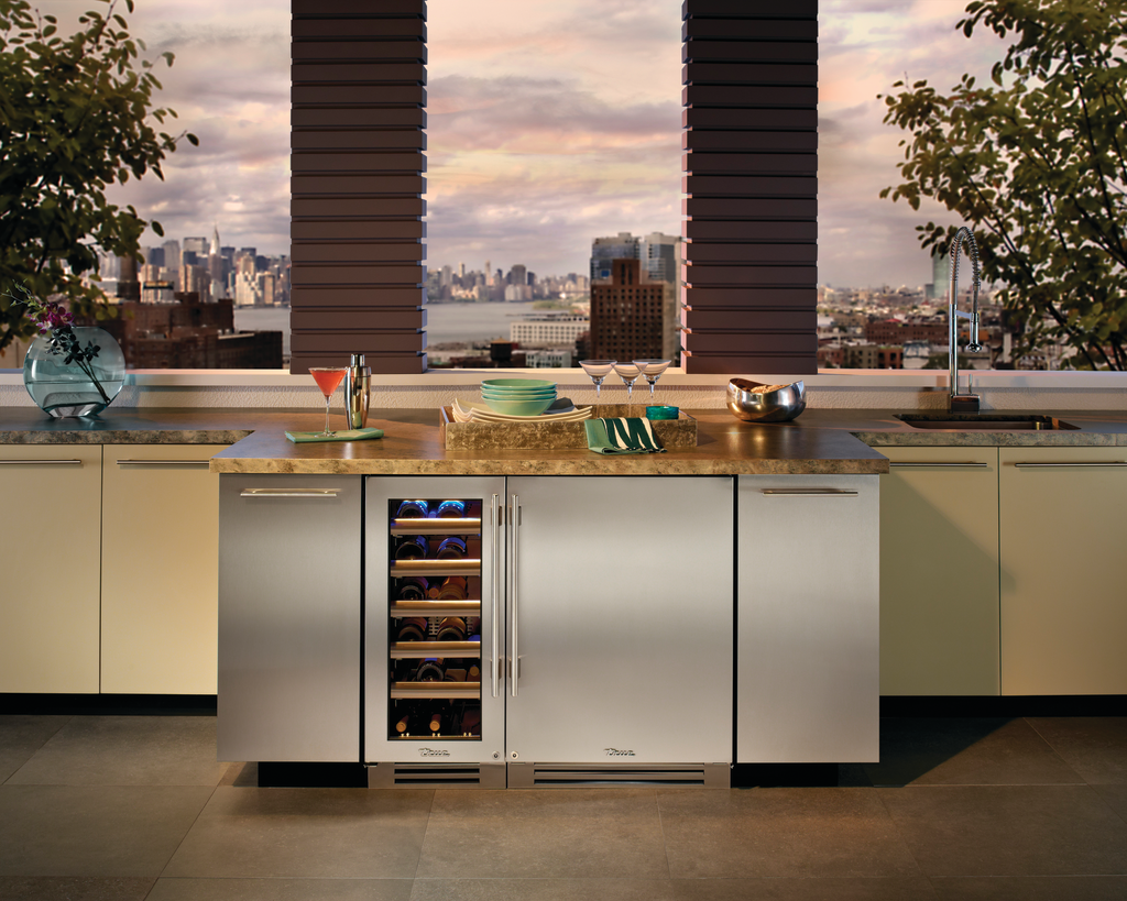 Wine Cabinet and Beverage Center