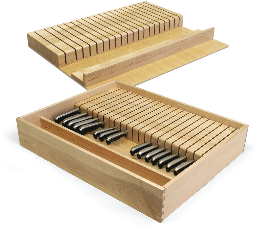 Knife Block Drawer Boxes & Inserts