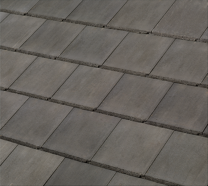 Colors added to concrete roofing line
