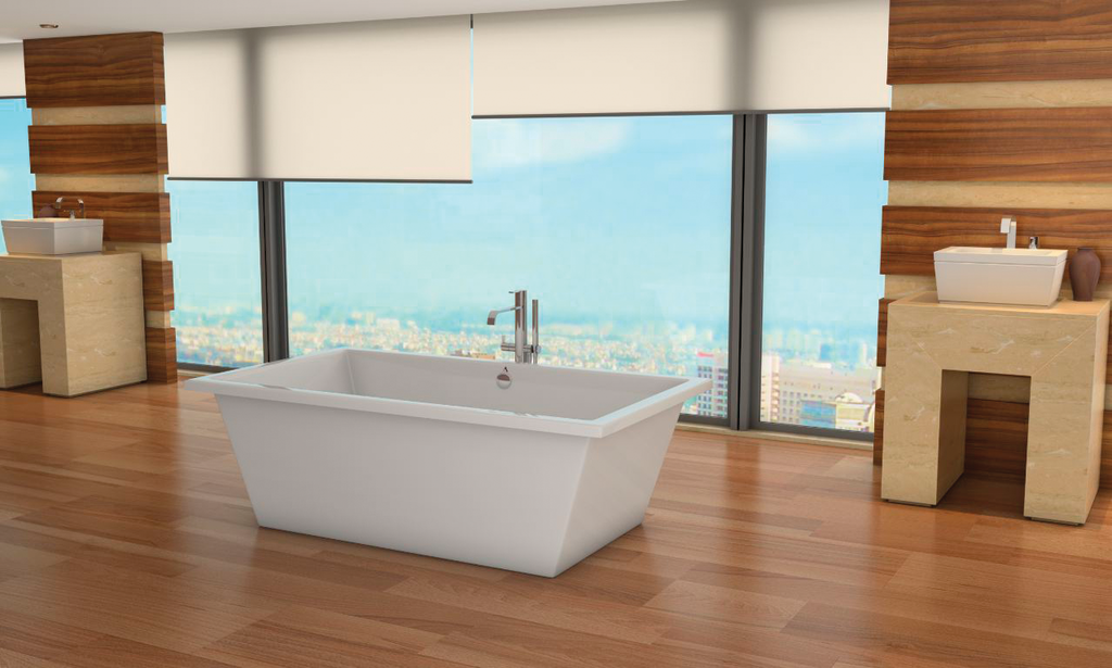 Bathtub designed for soaking