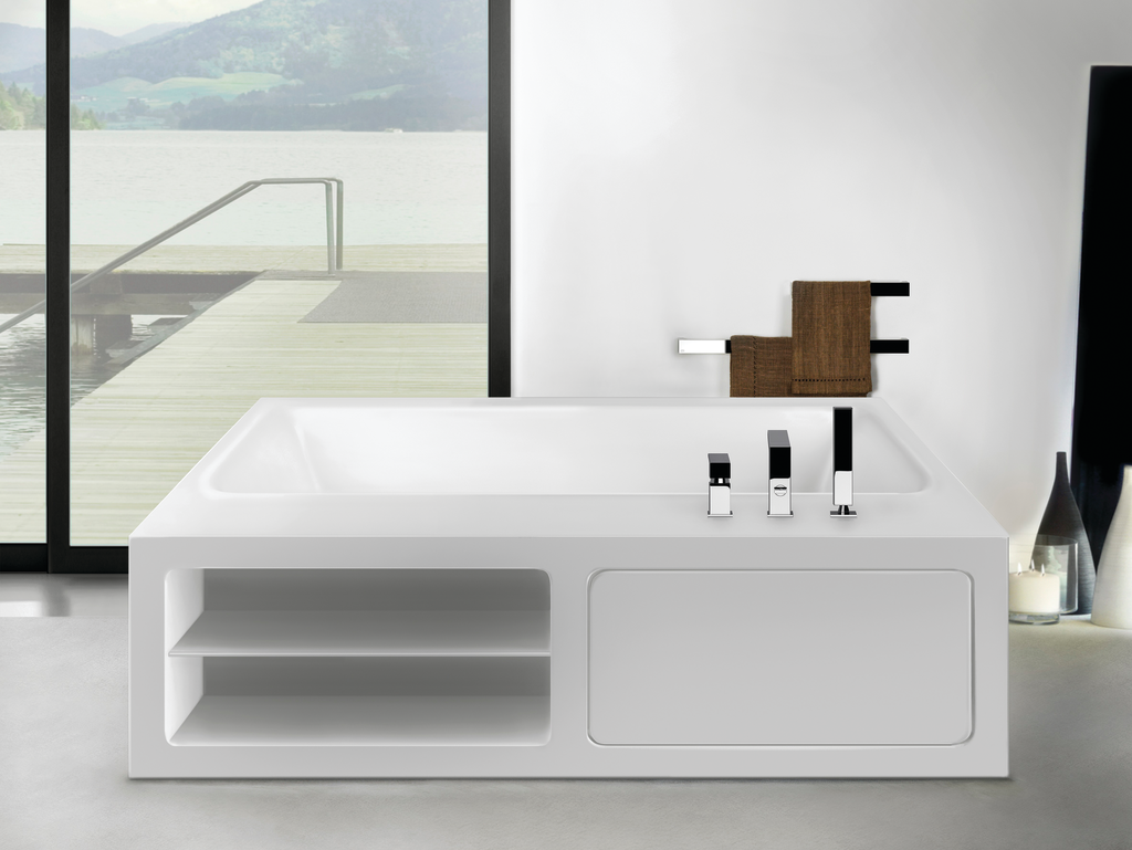 Rettangolo Solid Surface Bathtubs
