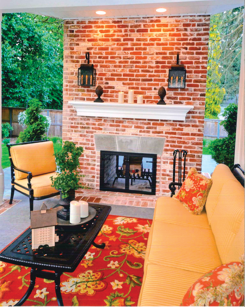 Building history into outdoor living space