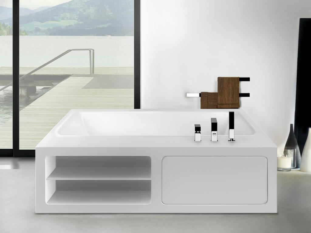 Rettangolo Bathtubs