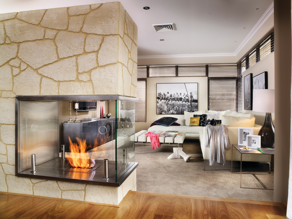 Vent-free fireplaces, burners