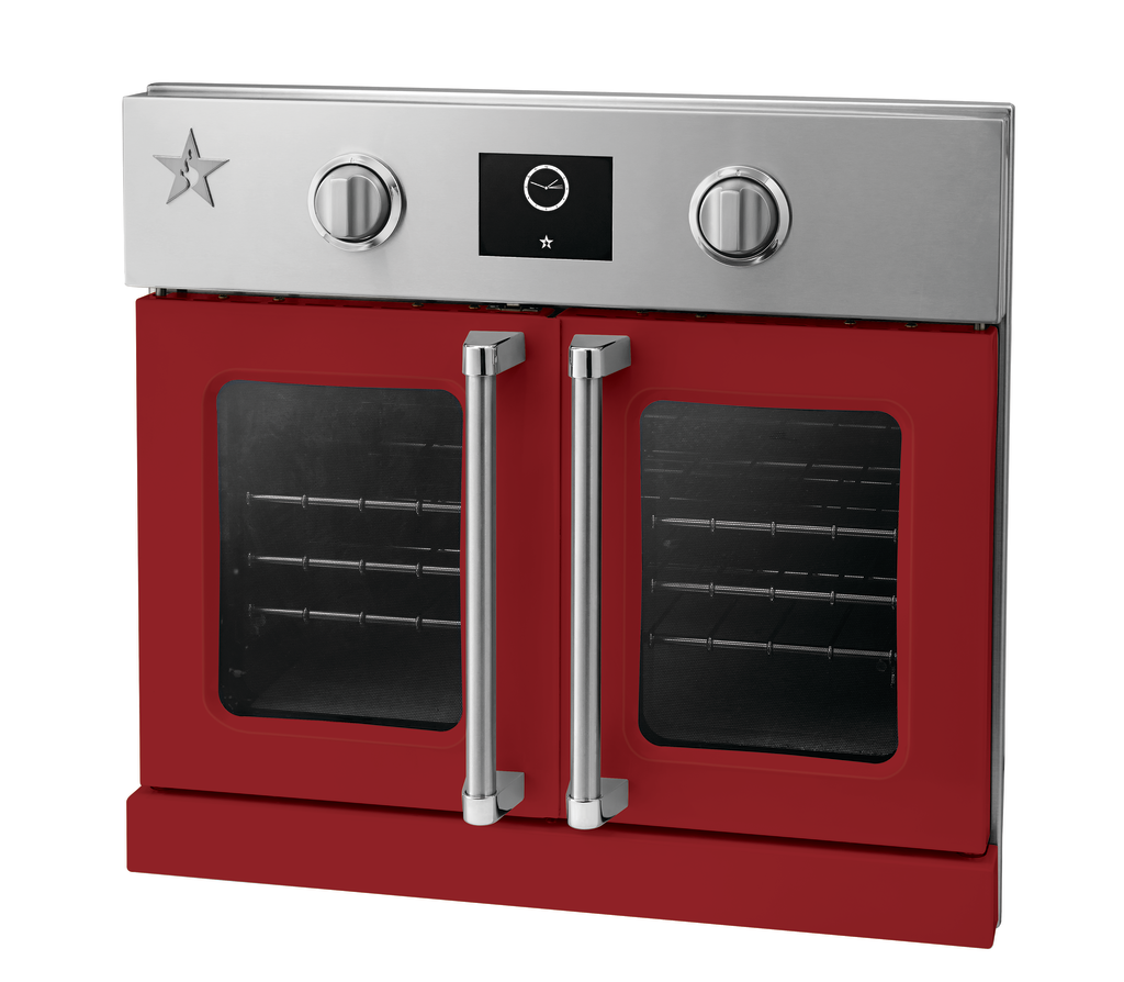 Ruby Red Electric Wall Oven