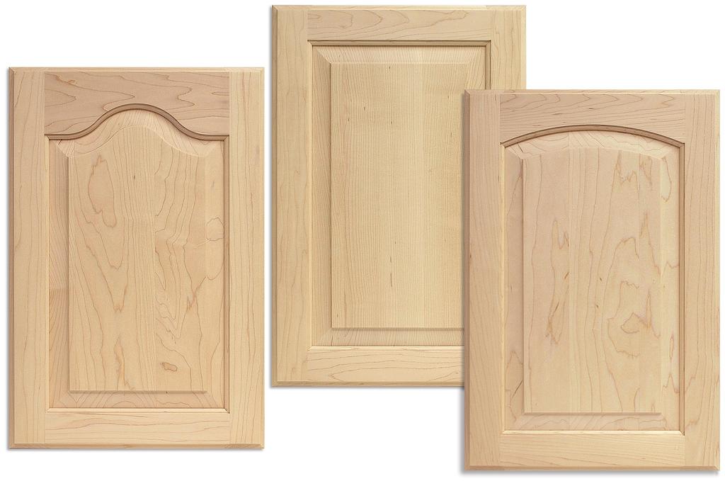 Cabinet doors in any wood species