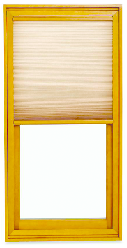 Integrated shade system for windows, doors with options