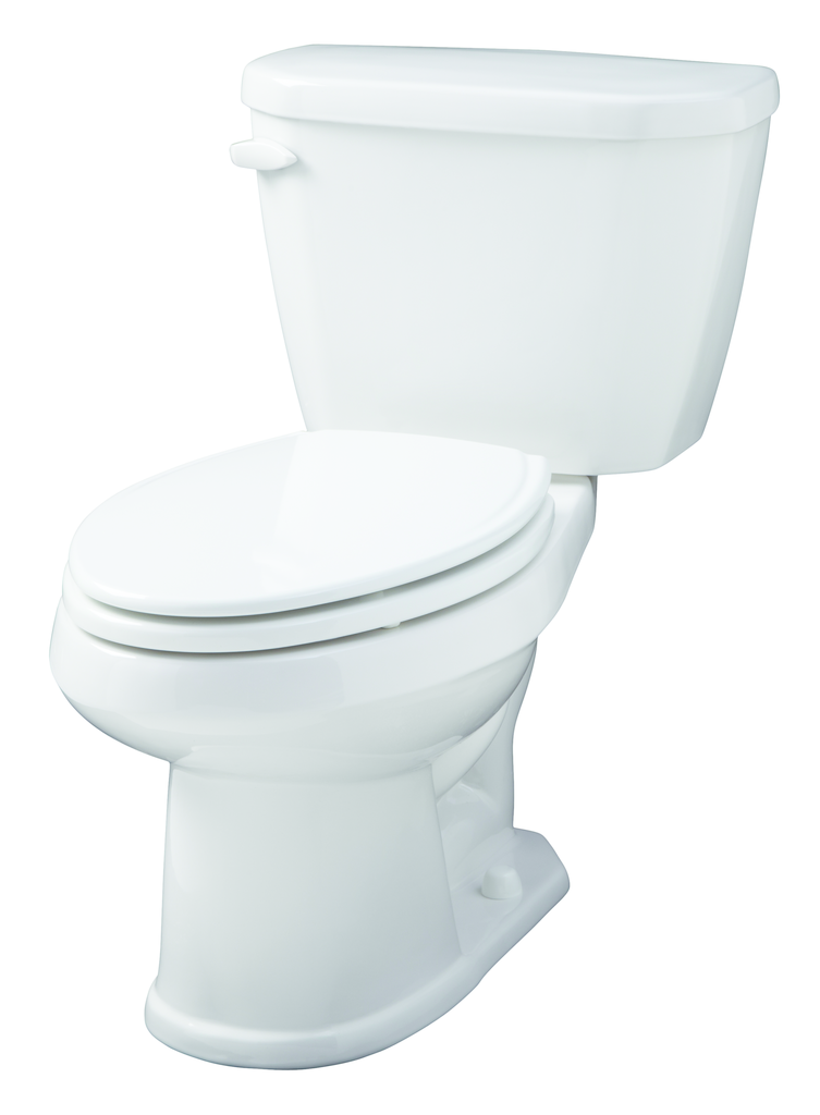 ADA-compliant toilet with interchangeable tanks