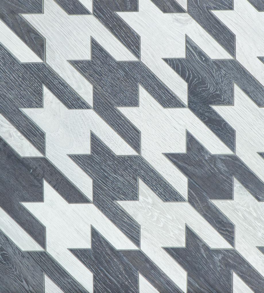Houndstooth Linen Ceramic Tile