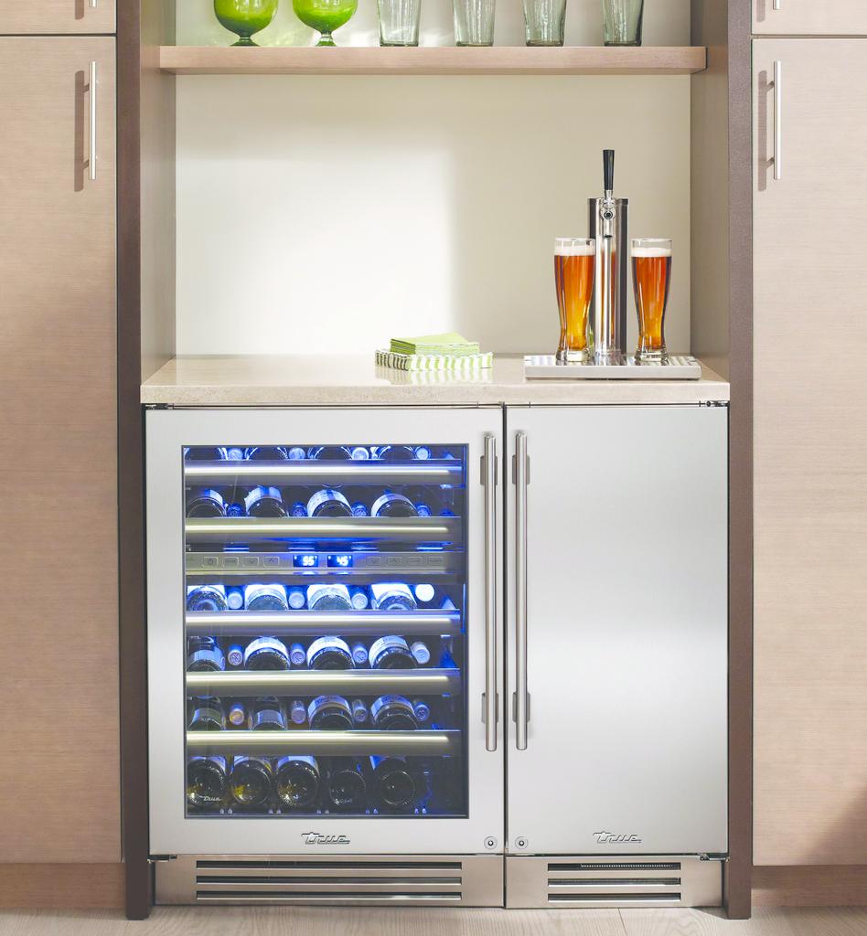 Beer Dispenser & Wine Cabinet