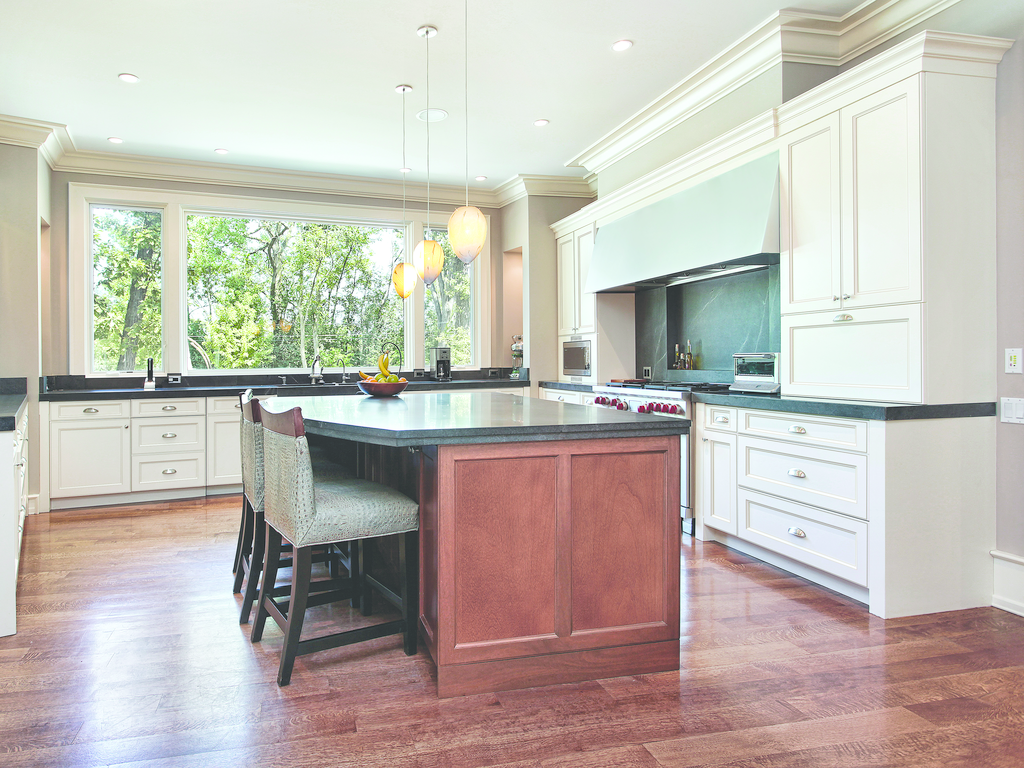 Fusion Blanc Cabinetry