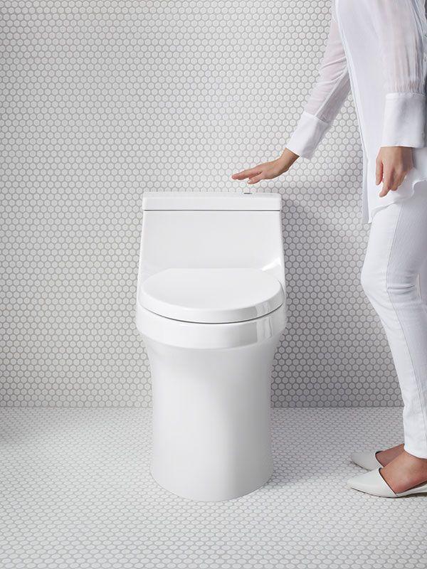 San Souci Touchless Toilet