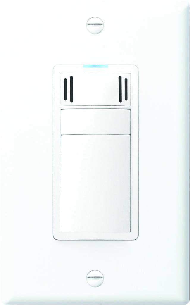 Sensor includes seasonal adaptability, adjustable MPH fan timer