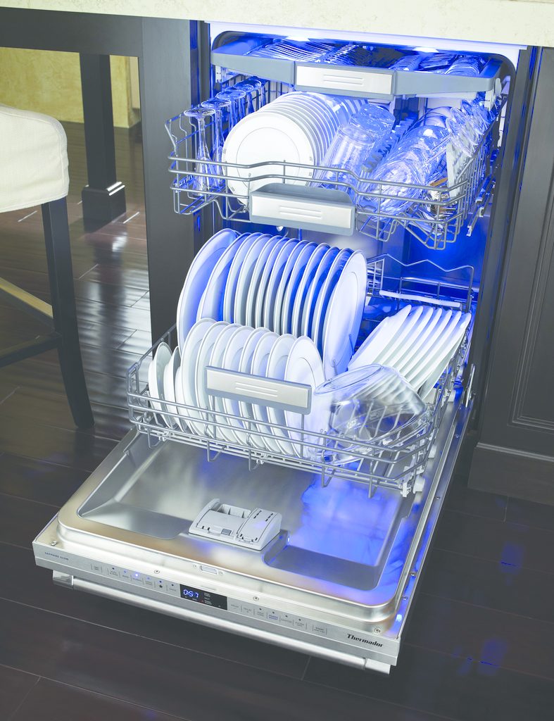 Dishwasher can complete full cycle in 20 minutes