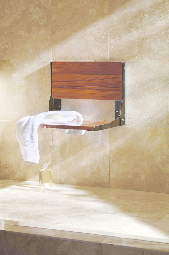 Fold-Down Shower Seat