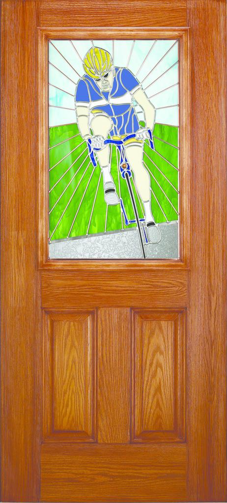 Custom door glass