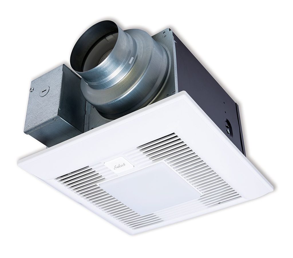Vent fan with speed selector, customization options