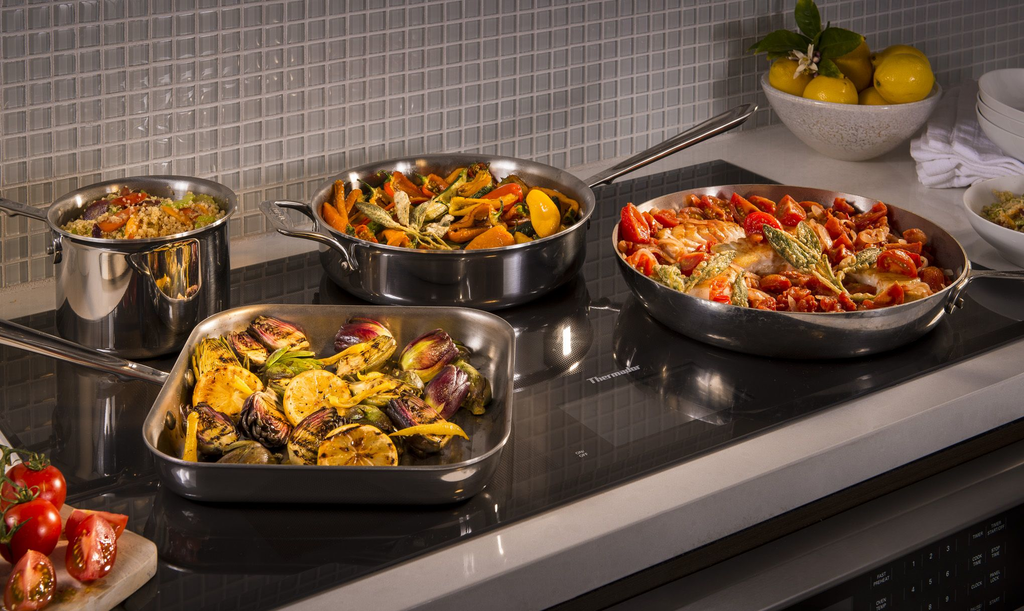 Trimless Induction Cooktop