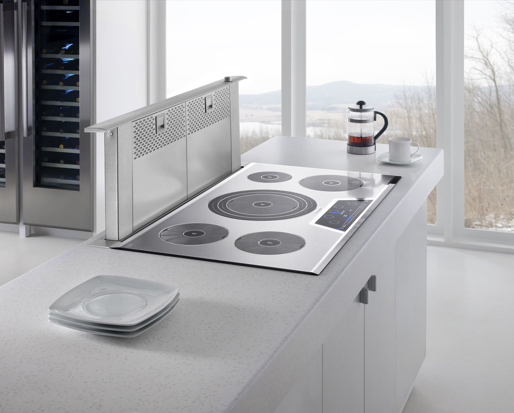 Masterpiece Downdraft Ventilation