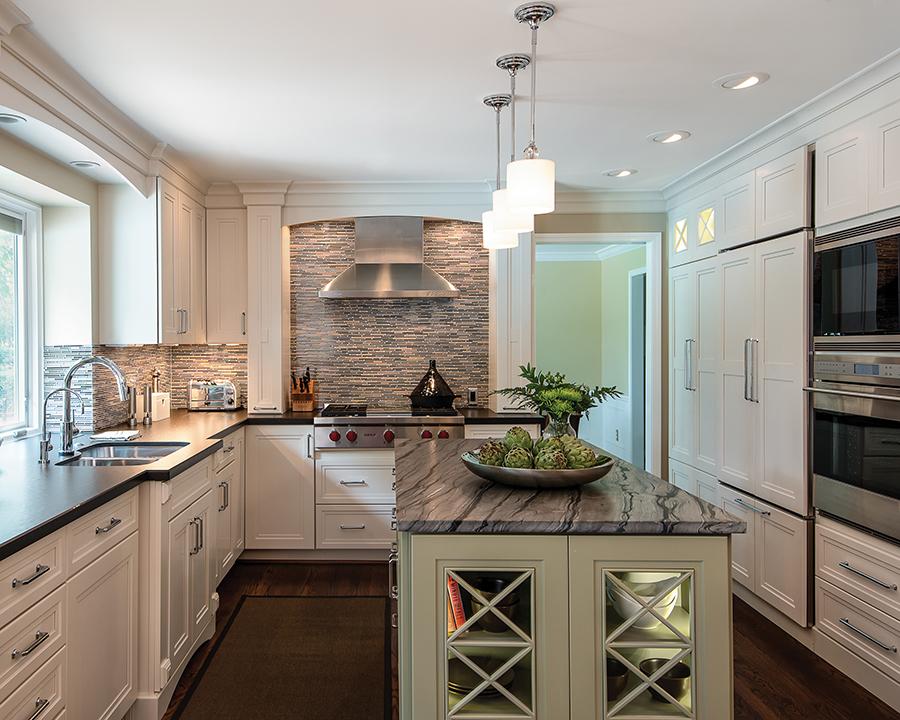 Luxury Impresses In Small Kitchens Kitchen Bath Design News