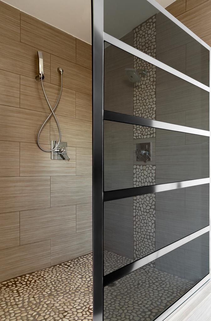 Gridscape Shower Door