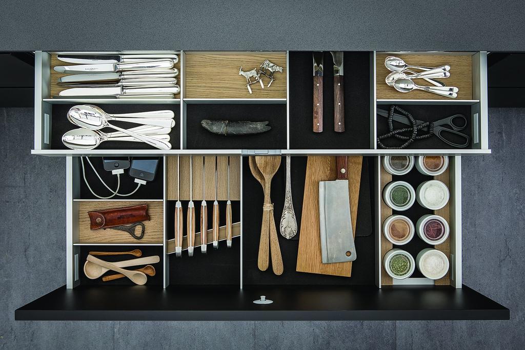 Cabinet Interior Storage System