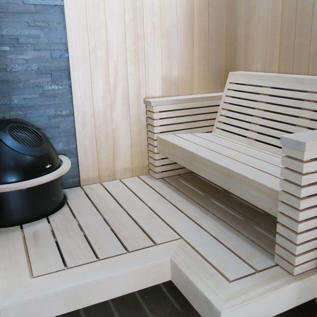 Seaside Sauna Interior