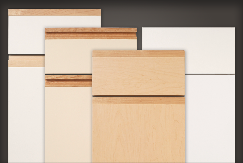 Slab style cabinet doors, drawer fronts