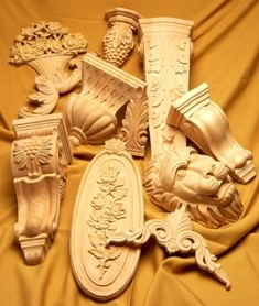 Decorative Wood Carvings