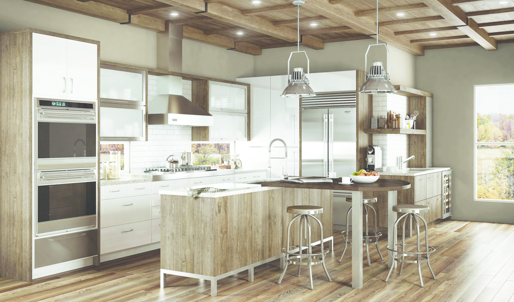 Rustic Urban Cabinetry