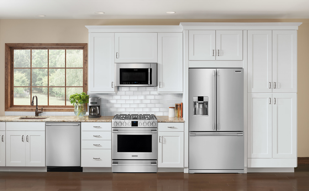 Seven appliances in professional-looking collection