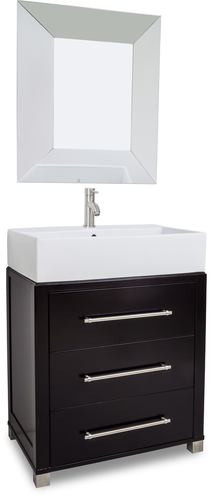 Vanities with oversized vessel bowl tops