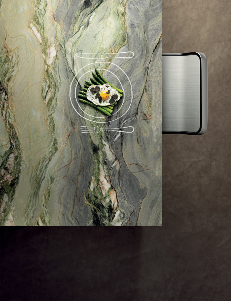 Six signature stones available in large slab format
