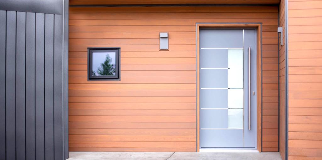 Aluminum door focuses on function, aesthetics, thermal performance