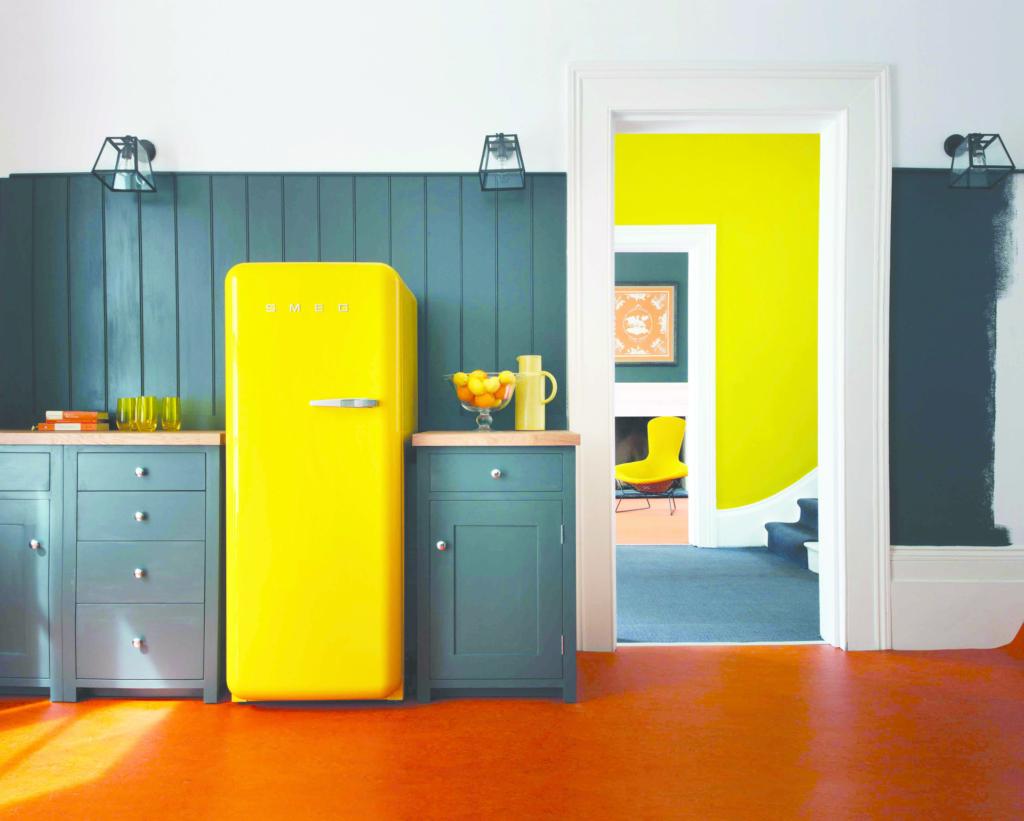 Retro-Style Refrigerators