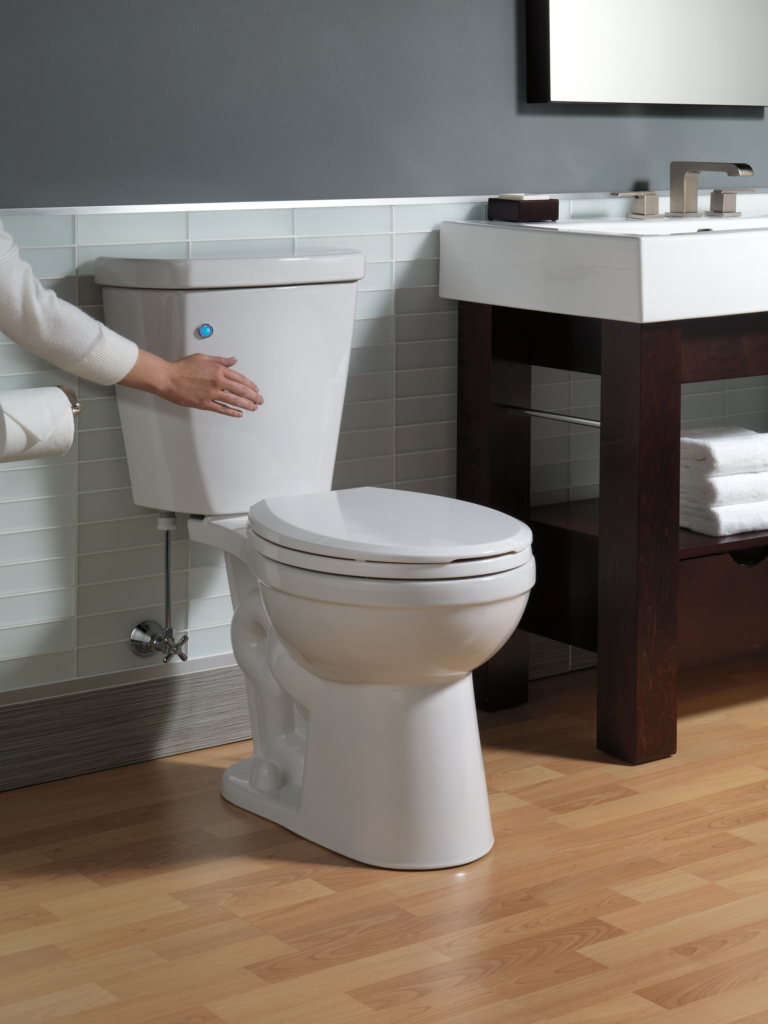FlushIQ Touch-Free Flush Toilet